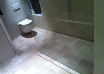 Badkamer - totaalproject betegeling