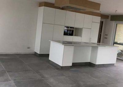 Keramische tegels - grijs - keuken