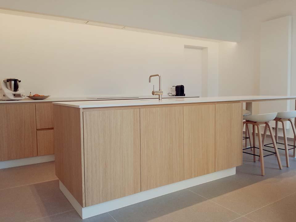 Keukentablet en keukenvloer - Tegels Vanderougstraete