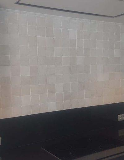 Zelliges - wandtegels keuken - Tegels Vanderougstraete