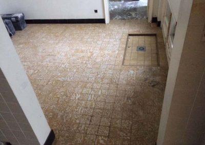 Vloerwerken - voor - Vanderougstraete