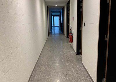 Terrazzo vloer Vichte - brandweerkazerne