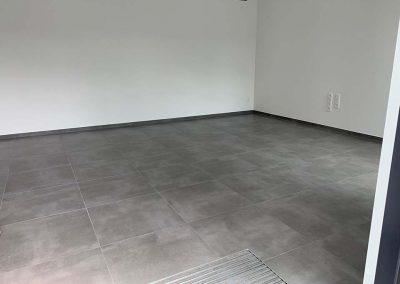 Keramische tegels vloer grijs 60x60