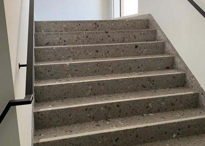 Betegelen trappen - tegels - Terrazzo