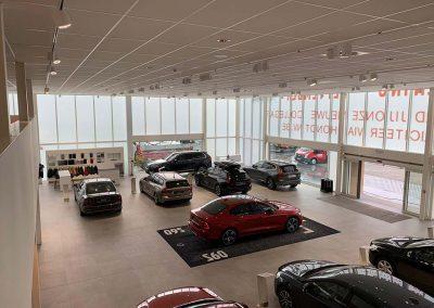 Project showroom Volvo Aalst - Tegels Vanderougstraete
