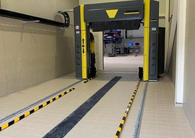Tegels werkplaats garage Volvo - Tegelhuis Kortrijk