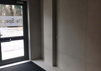 Renovatie inkomhallen residentie De Speye Kortrijk