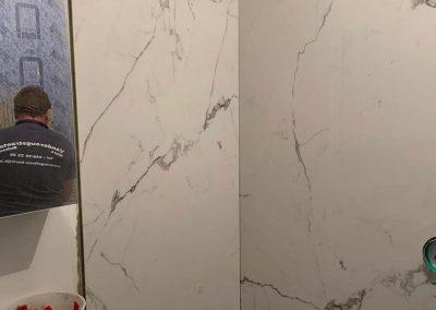 Badkamerenovatie XXL tegels
