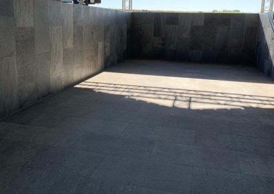 Zwembad keramische steen - tegels Vanderougstraete