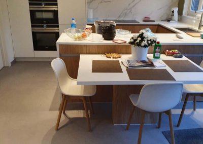 Keukenrenovatie - Spatwand