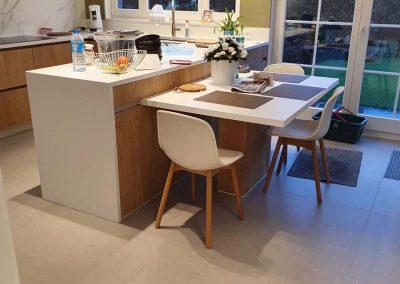 Keukenrenovatie - XL tegels